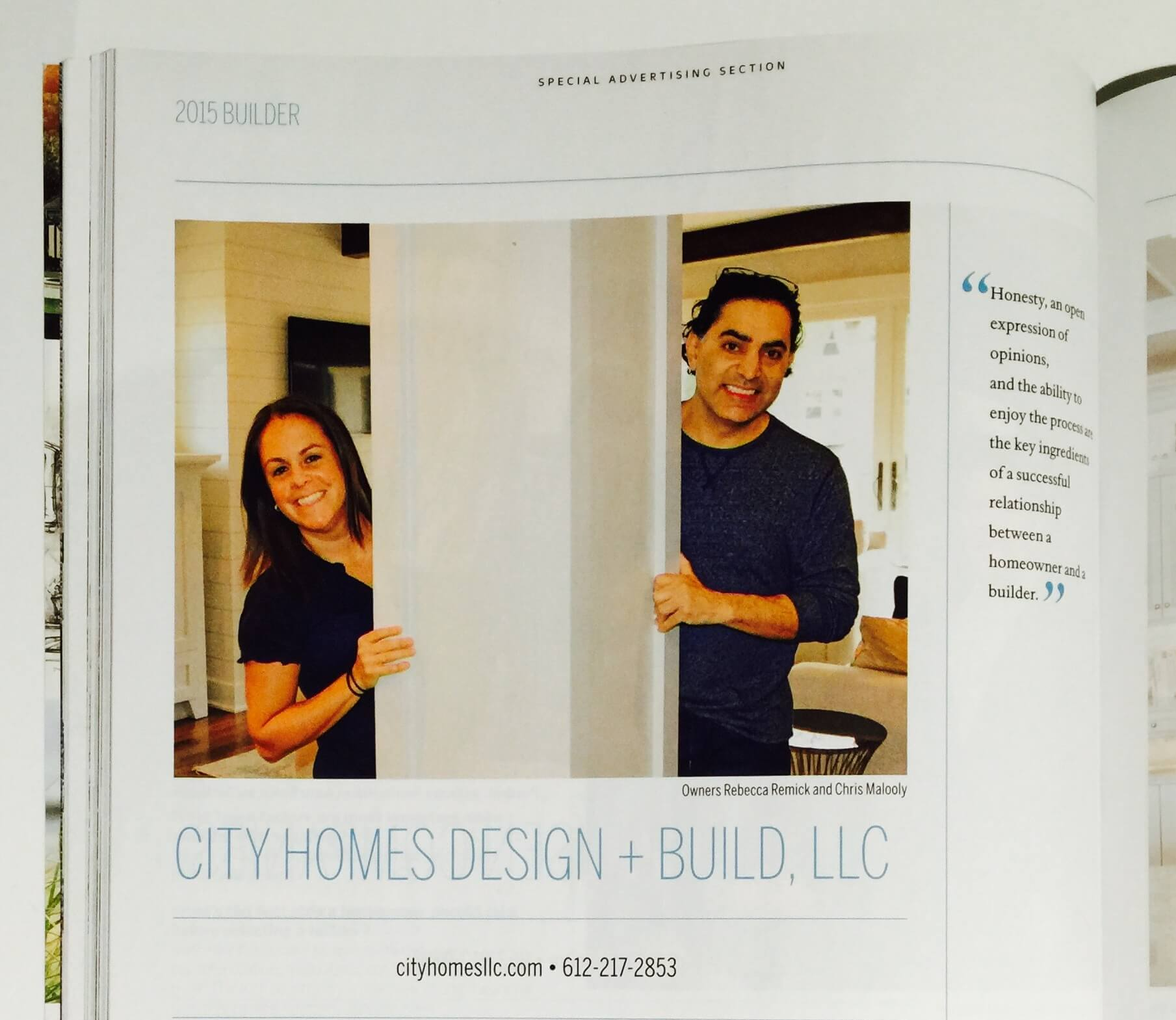 City Homes in Midwest Home Magazine - City Homes/Edina and ...